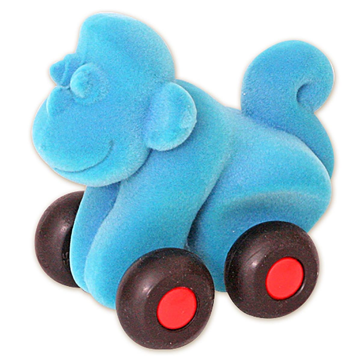 Обезьяна из каучука, 9 см, Rubbabu rubbabu фигурка функциональная обезьяна цвет синий