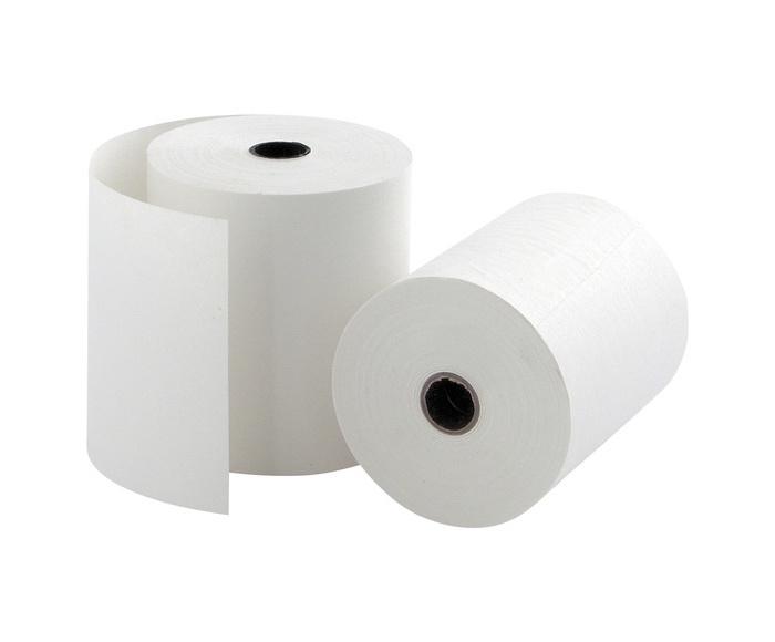 Упаковка кассовой термочувствительной лента Lux-Paper 80 мм, 80х18 70 м
