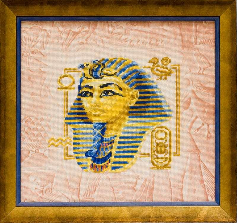 Набор для вышивания крестом Риолис Тутанхамон (30 х 30 см.) набор для вышивания крестом хрустальная бабочка 31 см х 40 см