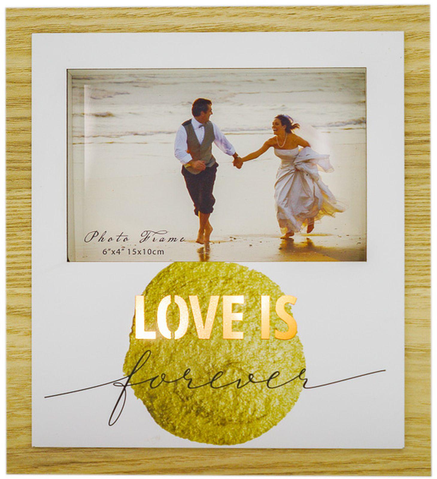 Фоторамка Fotografia Love Is..., FFL - 836, с подсветкой, для фото 10 х 15 см, 22 х 3 х 20 см