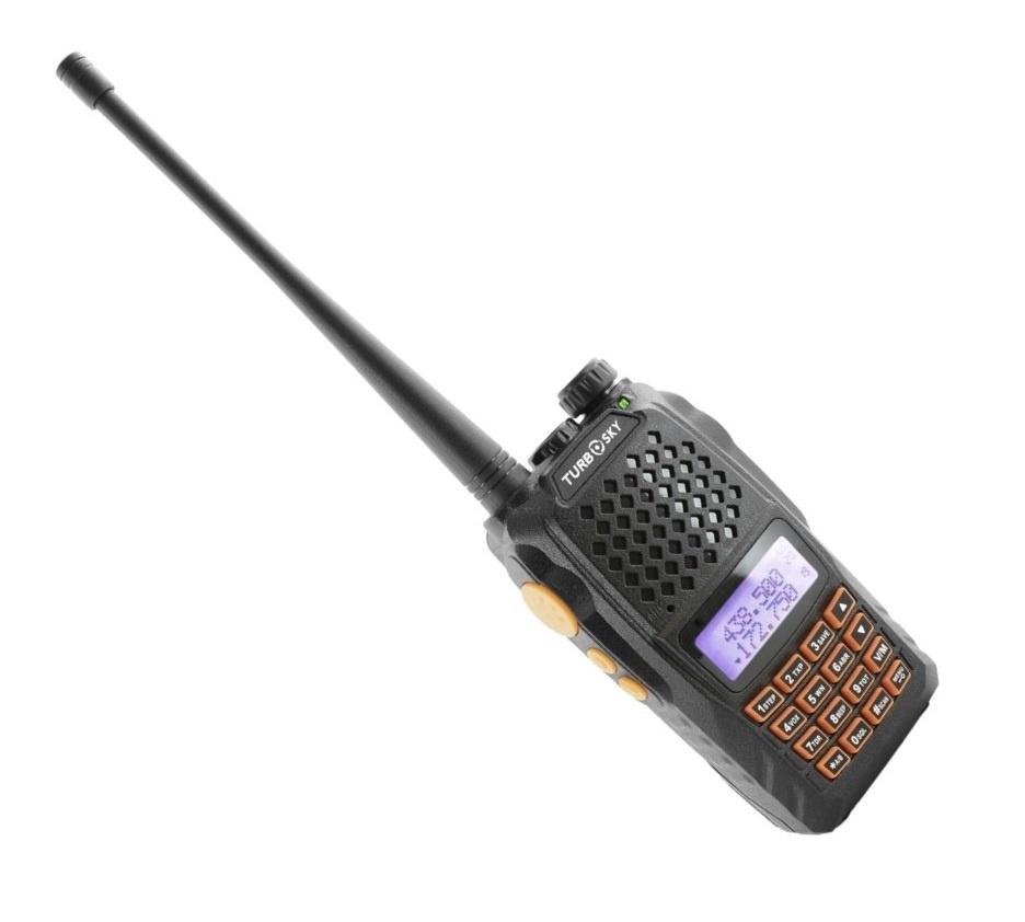 Радиостанция TurboSky T2 настройка каналов tv