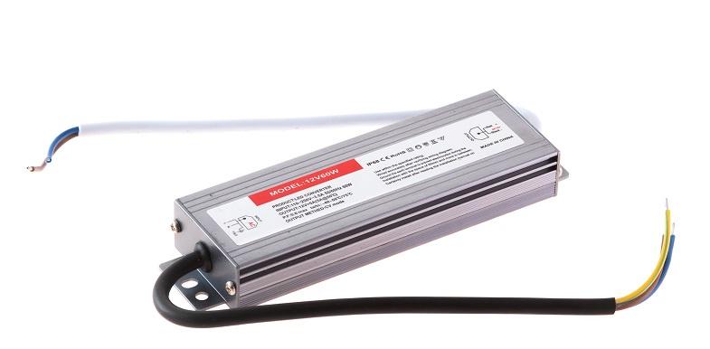 Блок питания для светильника URM С10046, 12 Вольт 60 Вт, От сети 220В универсальный блок питания для ноутбуков ja pa16 с автоматическим переключением выходного напряжения 65w питание от сети 220в порт usb 12 перех