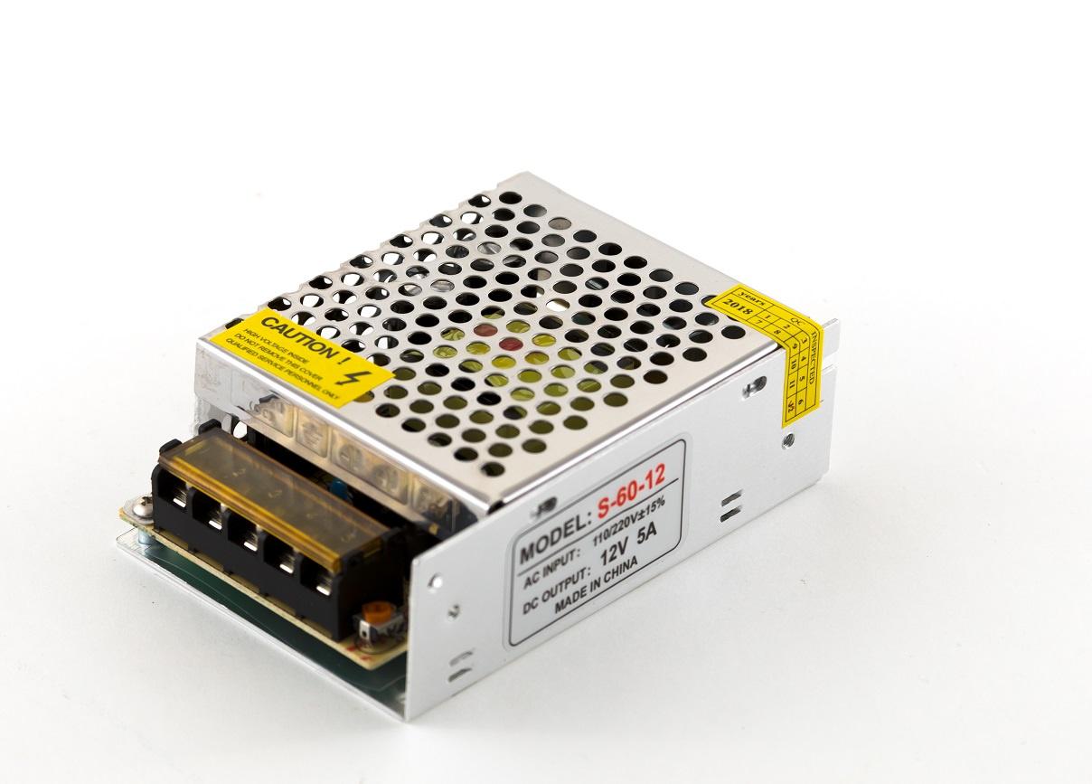 Блок питания для светильника URM С10261, 12 Вольт, 60 Вт, От сети 220В блок питания компьютера semolina адаптер питания magsafe 2 мощностью 60 вт magsafe2 60
