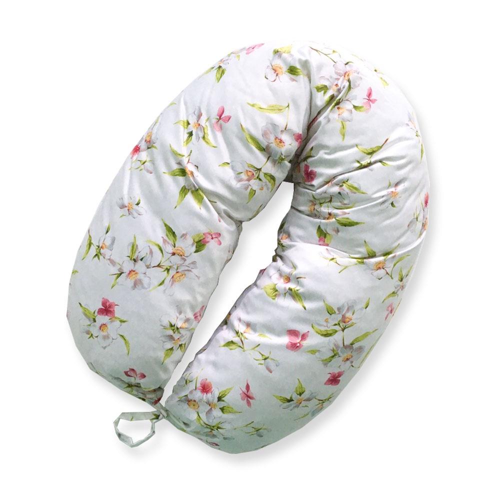 Подушка Бумеранг с наволочкой (ткань сатин), Ортомедтехника