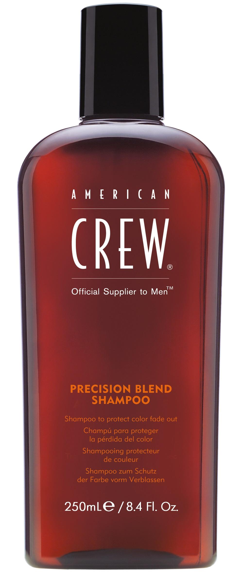 Шампунь для окрашенных волос AMERICAN CREW precision blend shampoo 250 мл шампунь для седых и седеющих волос american crew classic gray shampoo 250 мл