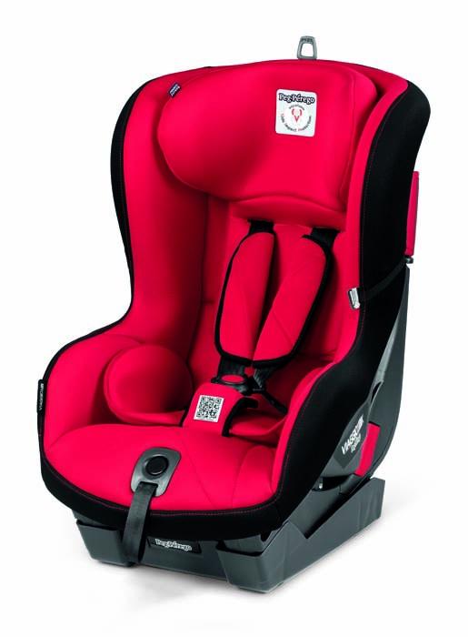 цены Детское автокресло Peg-Perego Primo Viaggio1 Duo-Fix K Rouge
