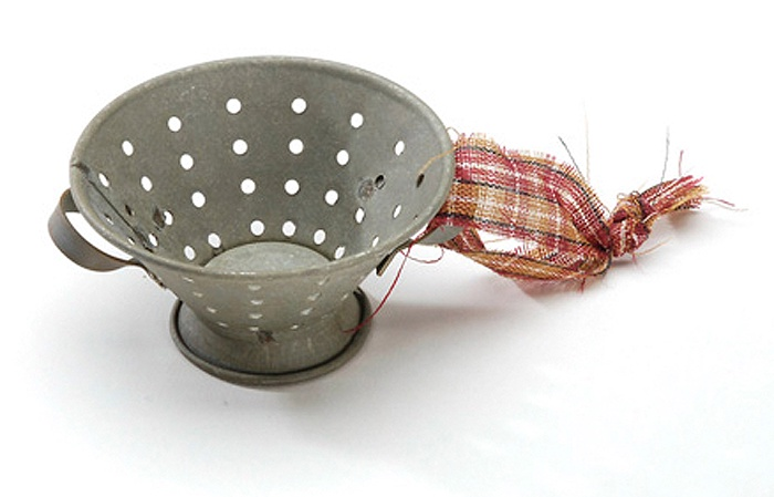 Металлическое украшение для декорирования Darice Сито (6 х 3 см.) украшение 6 букв