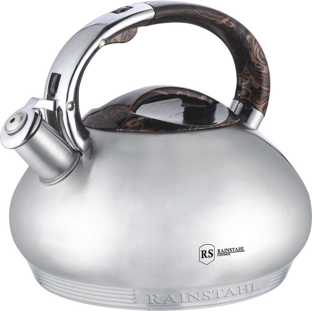 Чайник со свистком RAINSTAHL 3,0 л., 7637-30RS/WK/ чайник rainstahl со свистком цвет белый 3 л 7540 30rs wk