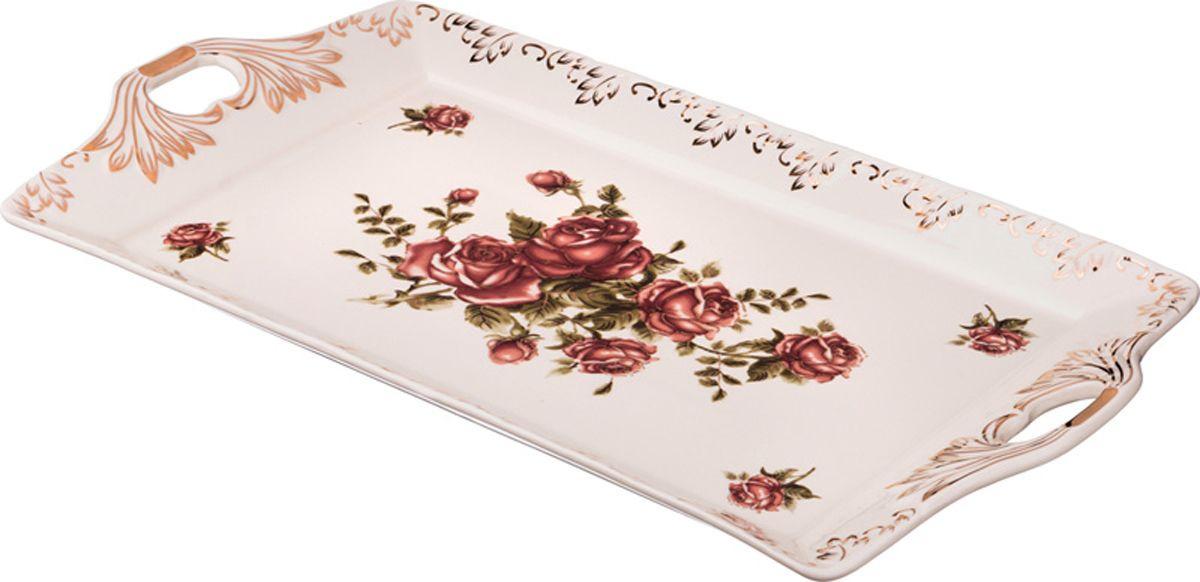 Поднос Lefard Корейская роза, 797-023, 50 х 26 х 4 см поднос d36 х 6 см