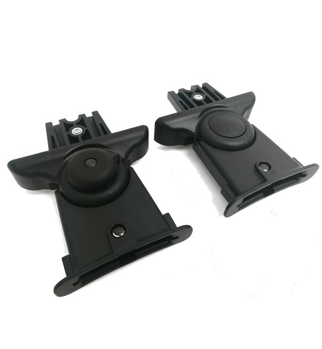 Адаптер на коляски Venicci для установки люлек Britax Roemer черный автолюльки