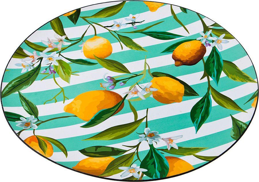 Поднос Lefard Лимоны, 106-543, диаметр 40 см поднос lefard ретро 106 512