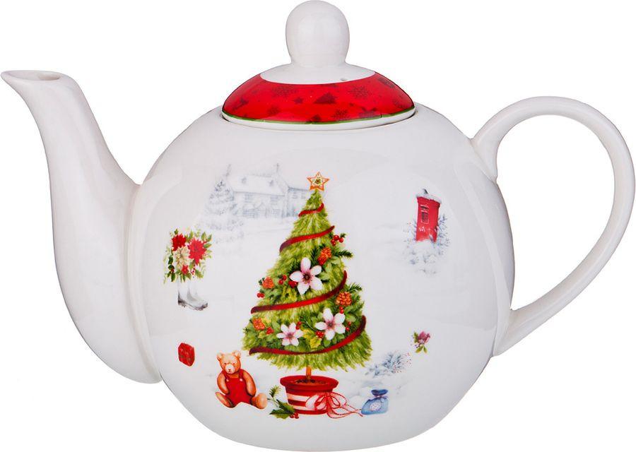 Чайник заварочный Lefard Новый Год!, 87-153, 1 л цена