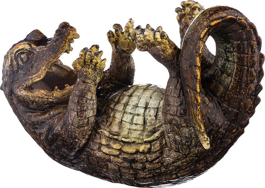 Подставка под бутылку Lefard Крокодил, 146-1097, 24 х 11 х 17 см подставка под бутылку marquis