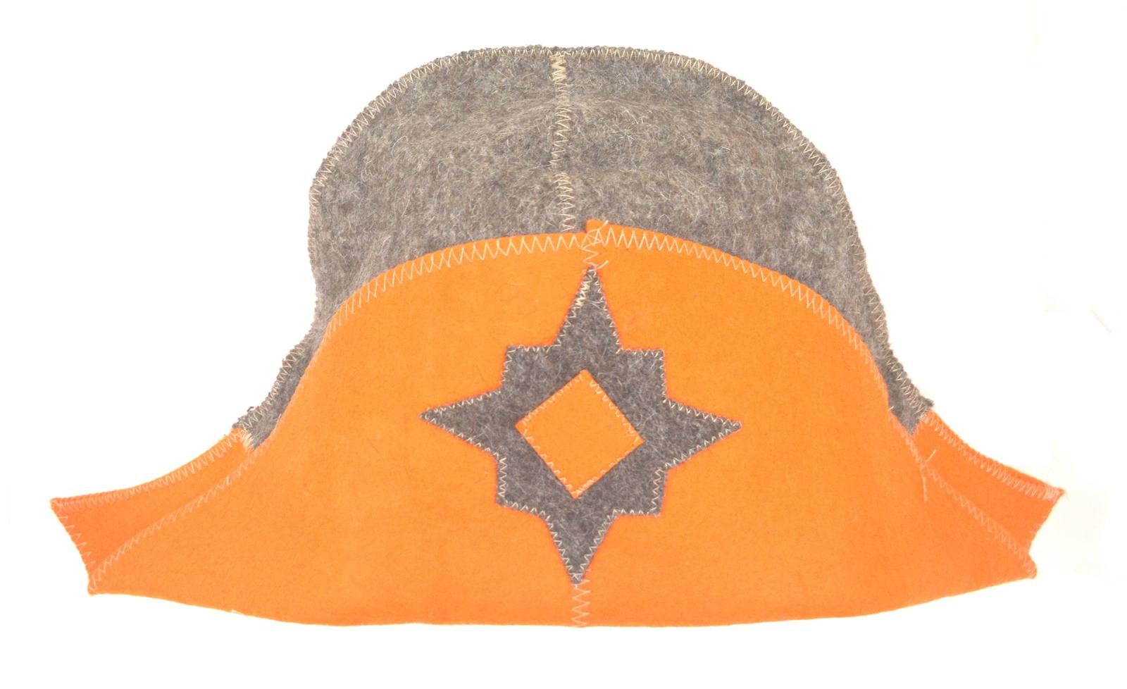 Колпак для сауны НАПОЛЕОН темно-оранжевый
