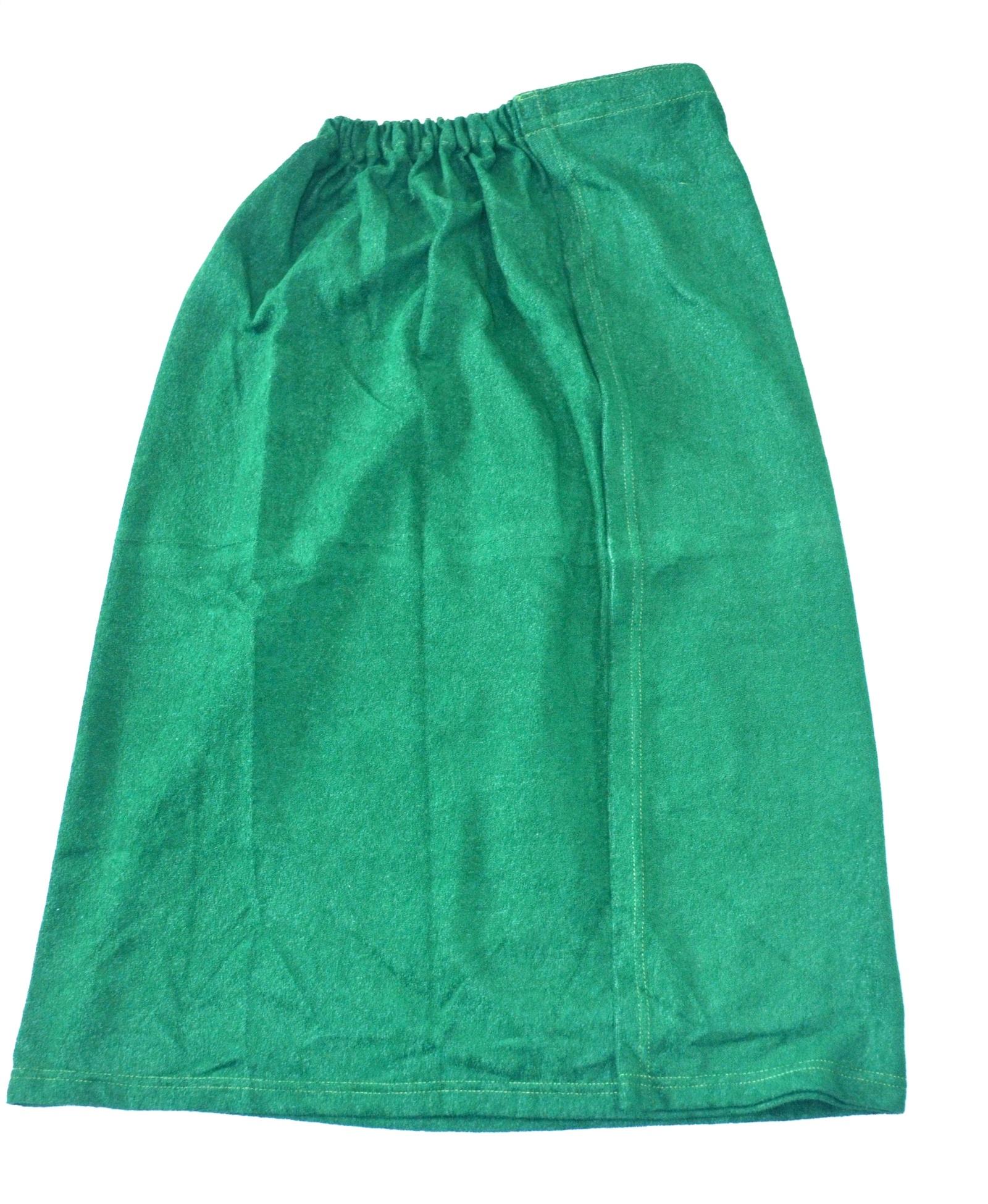 Фото - Килт махровый мужской зеленый килт для бани и сауны невский банщик мужской цвет зеленый 60 см бн88