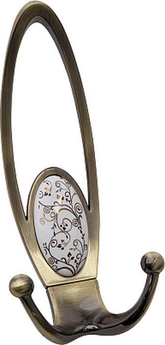 Фото - Крючок мебельный Kerron, KR 0400-04 AB, античная бронза крючок мебельный kerron kr 0101 ab бронза 70 х 73 х 20 мм
