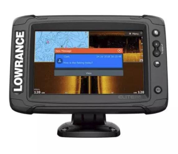 Эхолот-картплоттер Lowrance Elite-7 Ti2 with Active Imaging 3-in-1 (ROW)