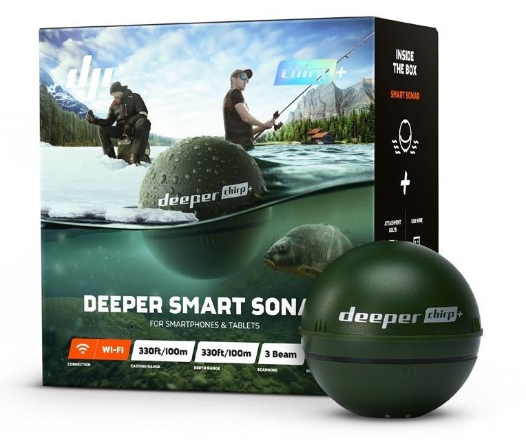цены на Беспроводной эхолот Deeper Smart Sonar CHIRP+  в интернет-магазинах