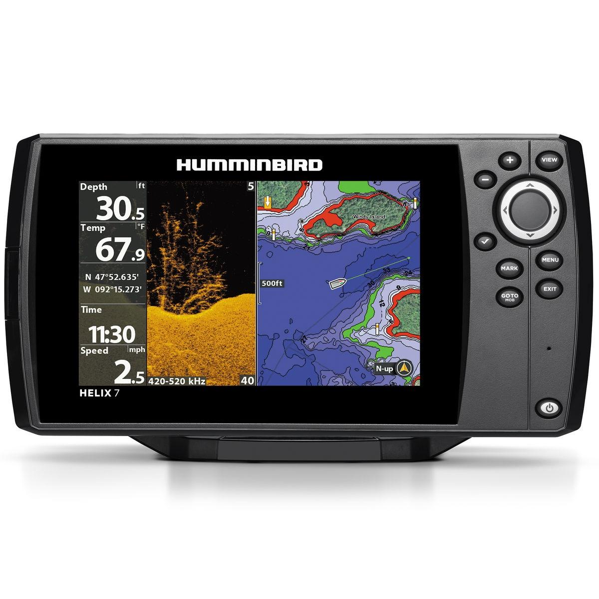 Эхолот Humminbird Helix 7x Chirp DI GPS G2N Eth/BT/ACL raymarine quantum™ беспроводной chirp радар
