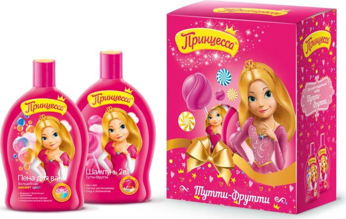 Шампунь для волос Принцесса Тутти-Фрутти, 400 мл принцесса бальзам для губ тутти фрутти 3 8 гр