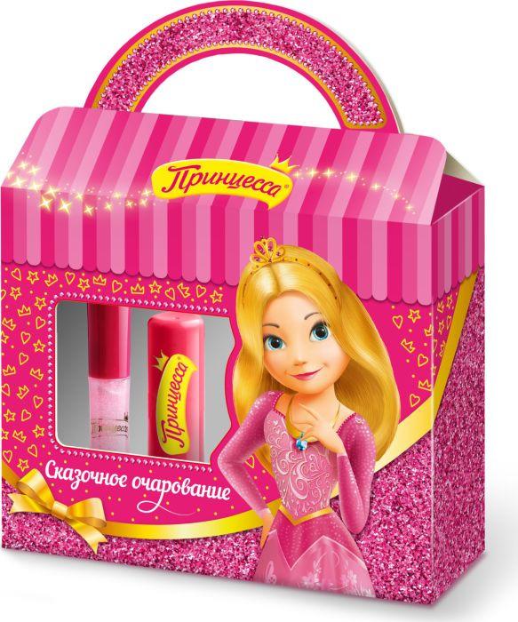 Набор декоративной косметики Принцесса СЕТ №1 Сказочное очарование Бальзам для губ