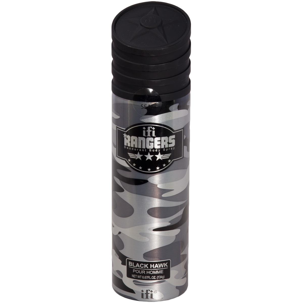 Дезодорант ( спрей ) RANGERS для мужчин BLACK HAWK 200 мл (3504035)