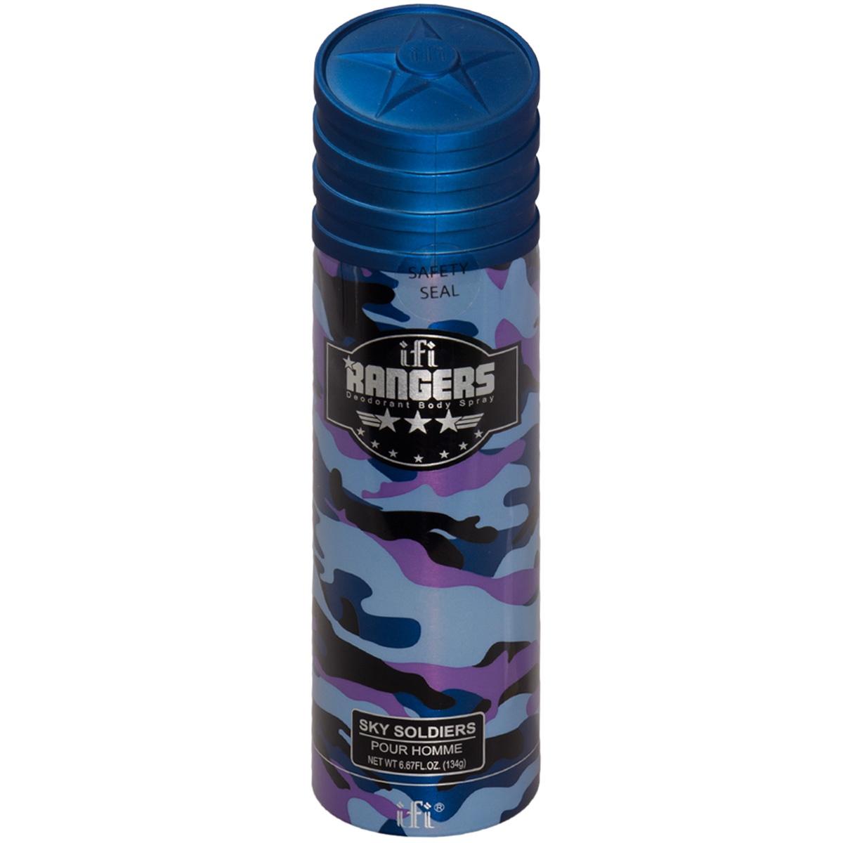 Дезодорант ( спрей ) RANGERS для мужчин SKY SOLDIERS 200 мл (3504036)
