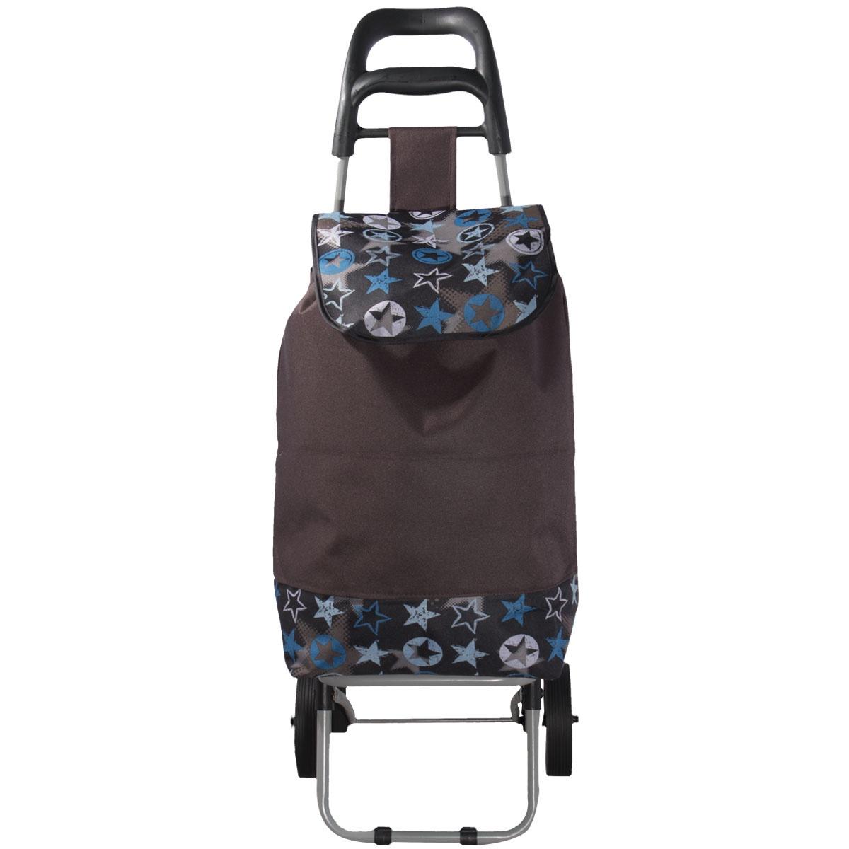 Сумка на колесах сумка тележка хозяйств на колесах с выдвижной ручкой раз сумки33х23х55 см клетка ассорти 4 цв