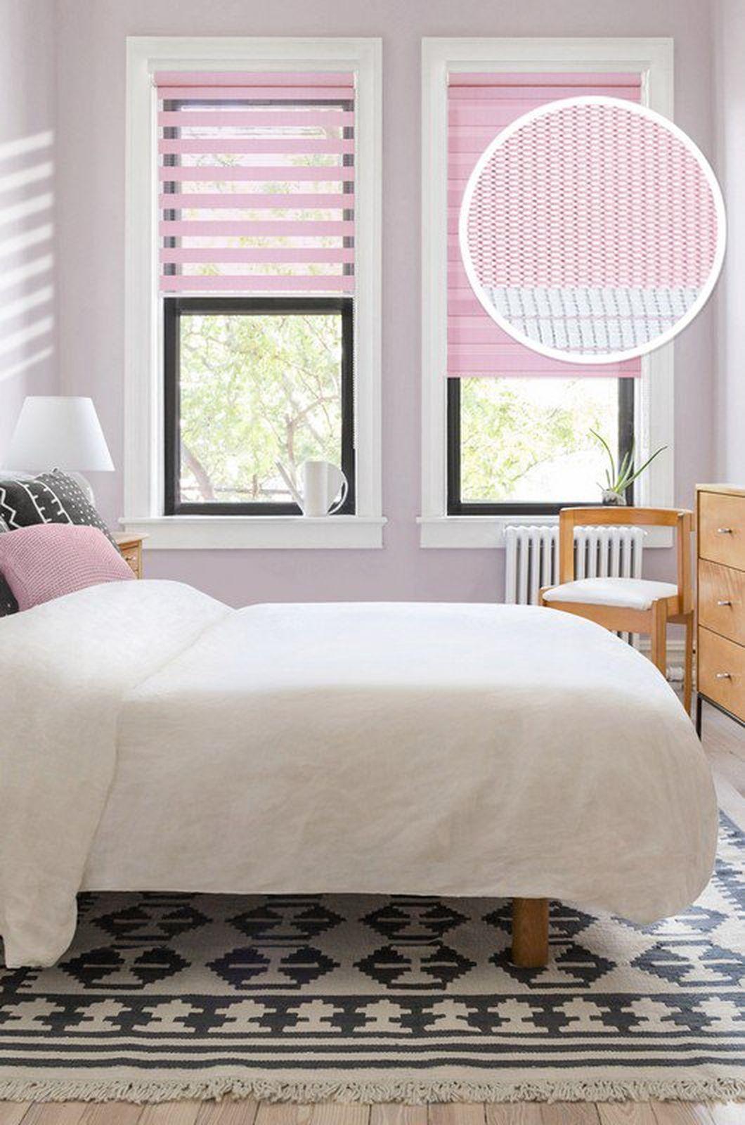 Миниролло Эскар День-Ночь, розовый, 48х170 см шторы рулонные ролло идея рулонная штора ролло lux satin терракот 60 см