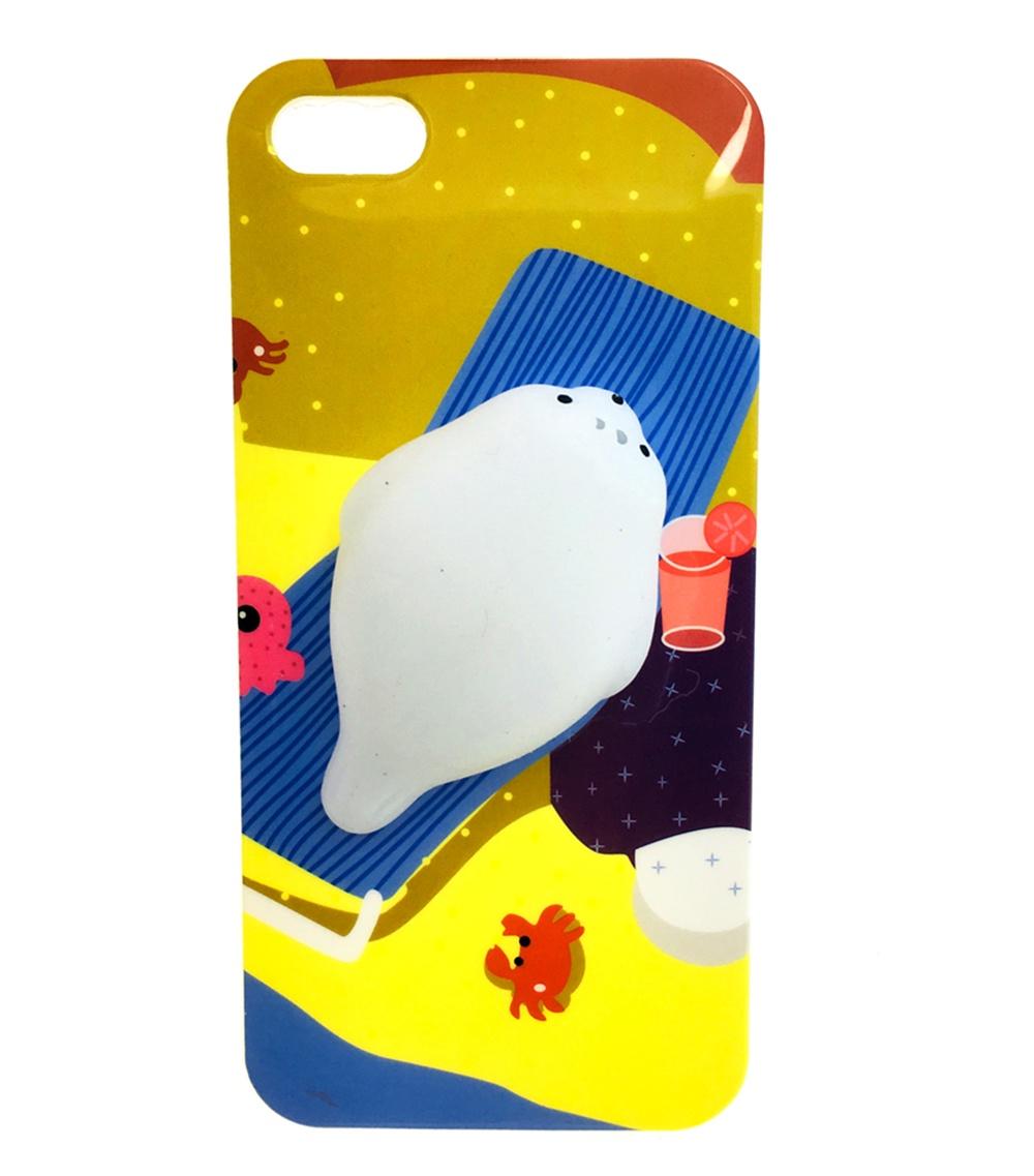 Чехол для Apple iPhone 5/5s/SE 6728 аксессуар чехол накладка innovation silicone 0 33mm для apple iphone 5 5s transparent 12001
