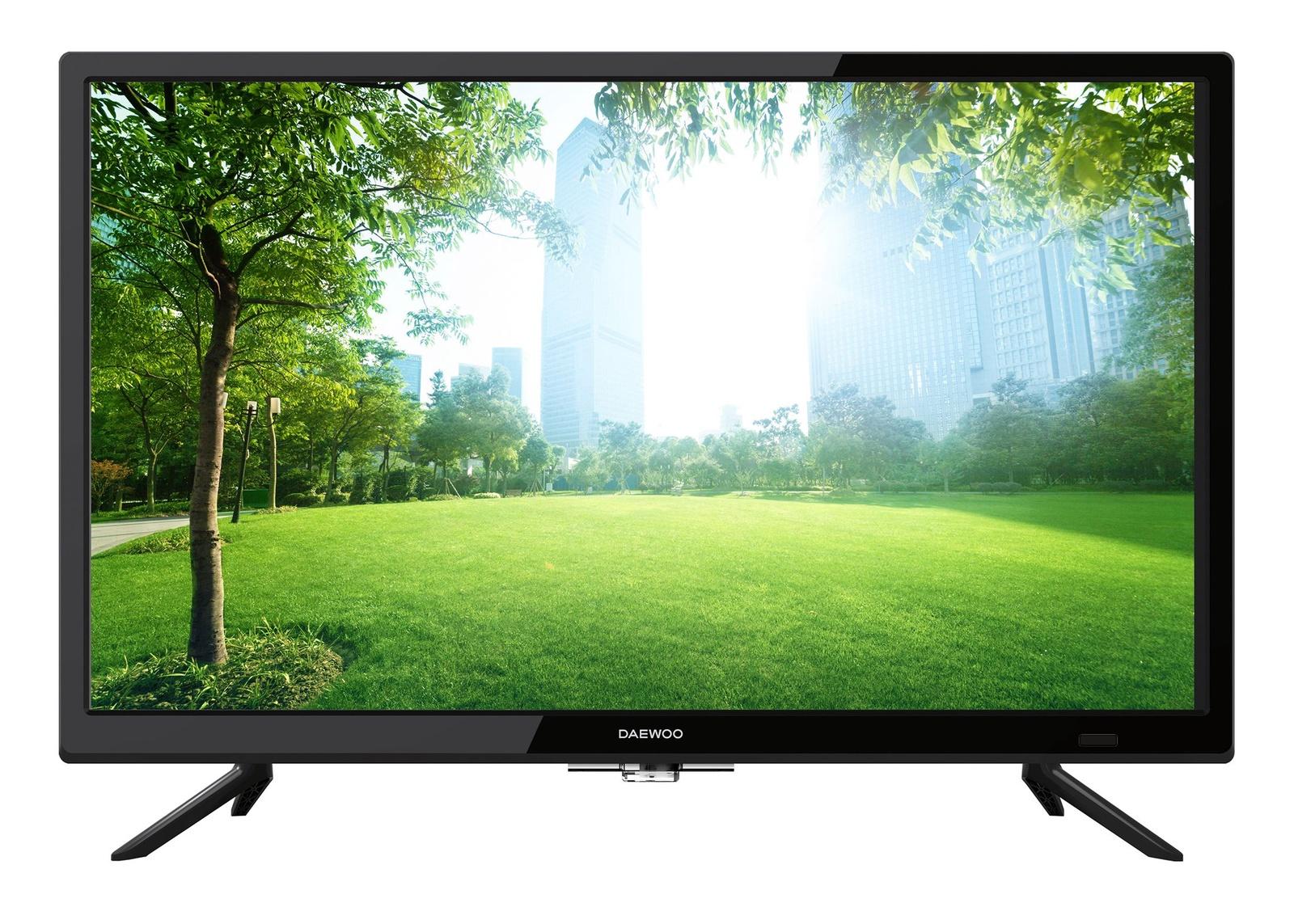 Телевизор Daewoo L24V638VAE 24, черный daewoo l32s638vke led телевизор