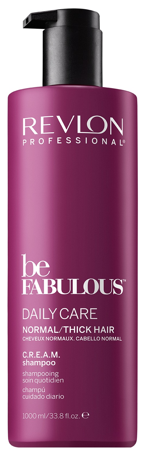 Шампунь BE FABULOUS для восстановления волос REVLON PROFESSIONAL для нормальных/густых волос 1000 мл