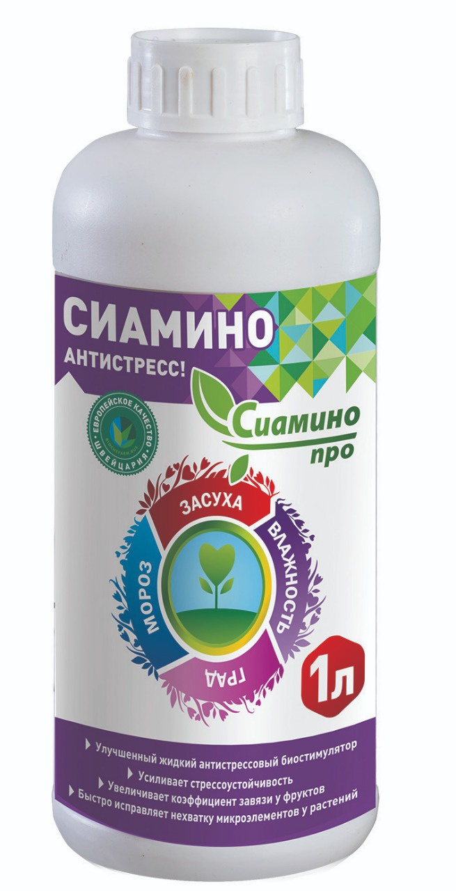 Удобрение Biochefarm Сиамино Про, 1л.