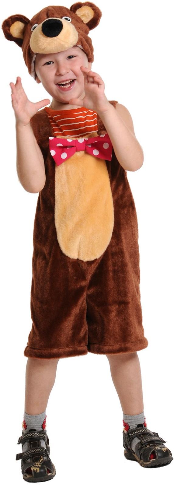 Карнавалофф Карнавальный костюм Медведь цирковой плюш недорго, оригинальная цена