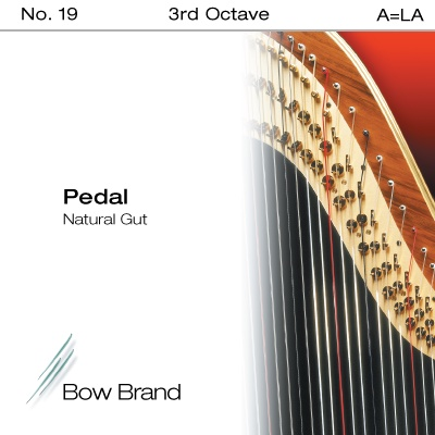 Струна A3 для арфы Bow Brand Pedal Natural Gut цена