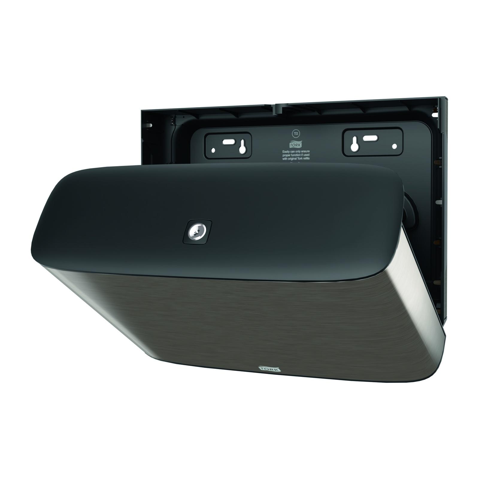 Диспенсер для туалетной бумаги Tork мини-рулонов Jumbo система Т2 стальной