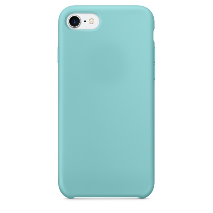 Чехол силиконовый Silicone Case для iPhone 7 / 8, бирюзовый