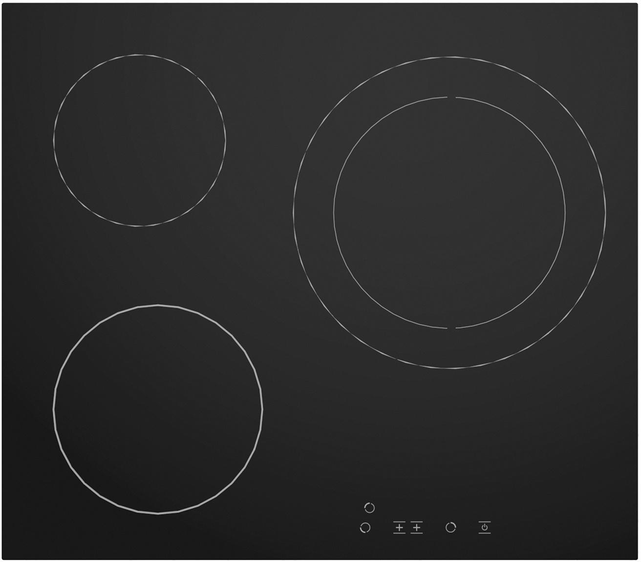 Электрическая панель Simfer H60D13B001 Основные характеристики: Независимая стеклокерамическая варочная...
