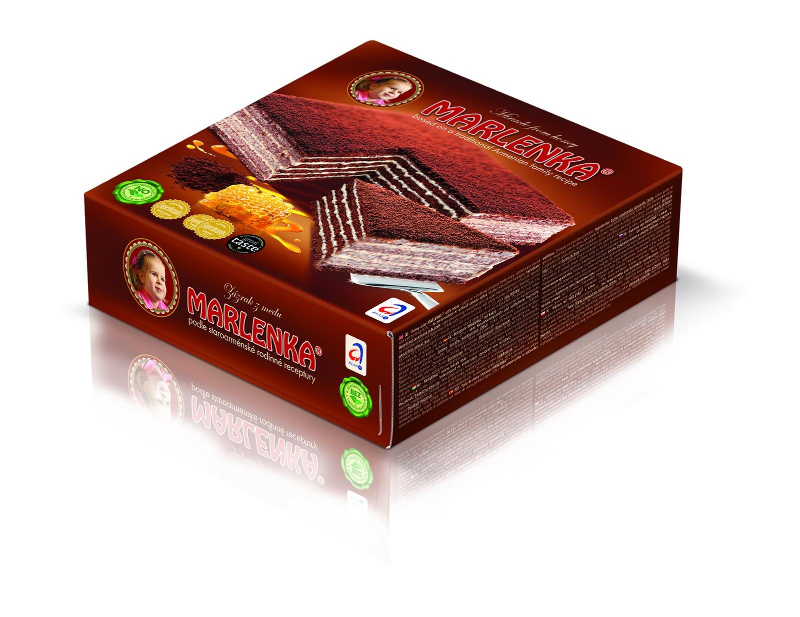 Торт медовый MARLENKA с какао торт marlenka медовый с какао 100 г