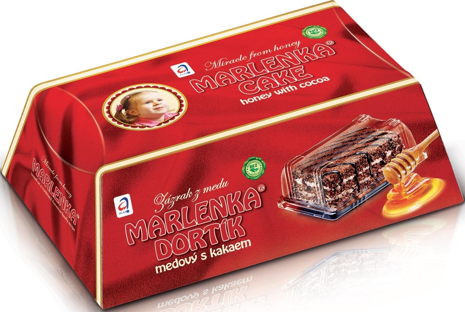Медовый торт Марленка с какао торт marlenka медовый с какао 100 г