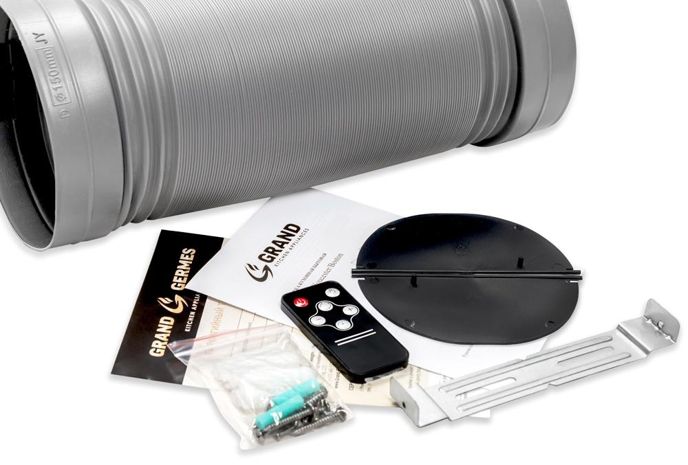Вытяжка кухонная GRAND Gloucester (60, белый) Вытяжка оборудована сенсорным управлением, которое четко и корректно...