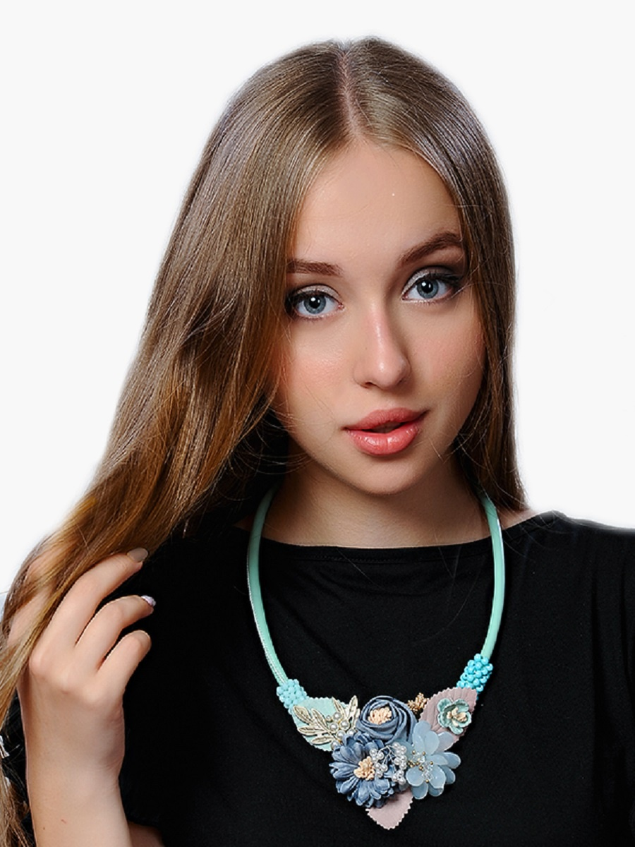 Колье/ожерелье бижутерное Oliva