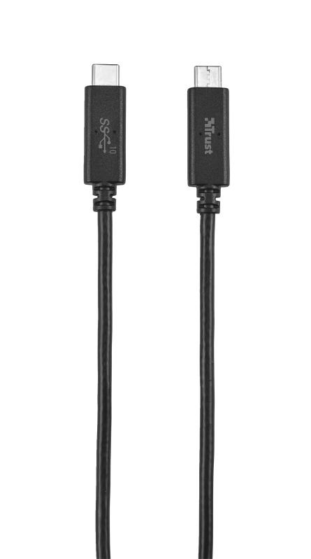 лучшая цена Кабель 21178 Trust UR USB3.1 USB-C USB-C 10Гб/с 1м 60Вт