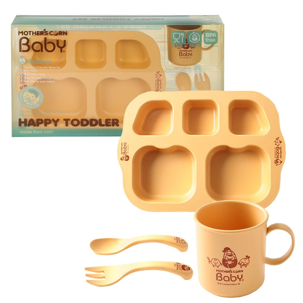 Mothers Corn набор посуды Счастливый малыш