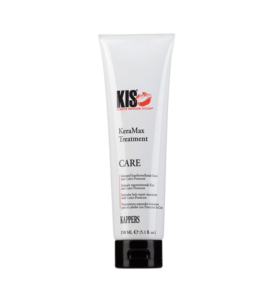Кератиново-увлажняющая маска KIS KeraMax Treatment с мощным регенерирующим и укрепляющим действием для сильно поврежденных волос, 150 мл