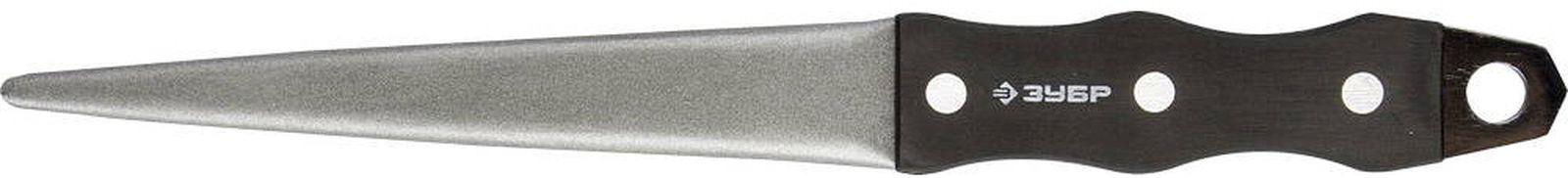 Напильник Зубр Master P 400 алмазный, для заточки режущих инструментов, 33396-150-400, 150 мм