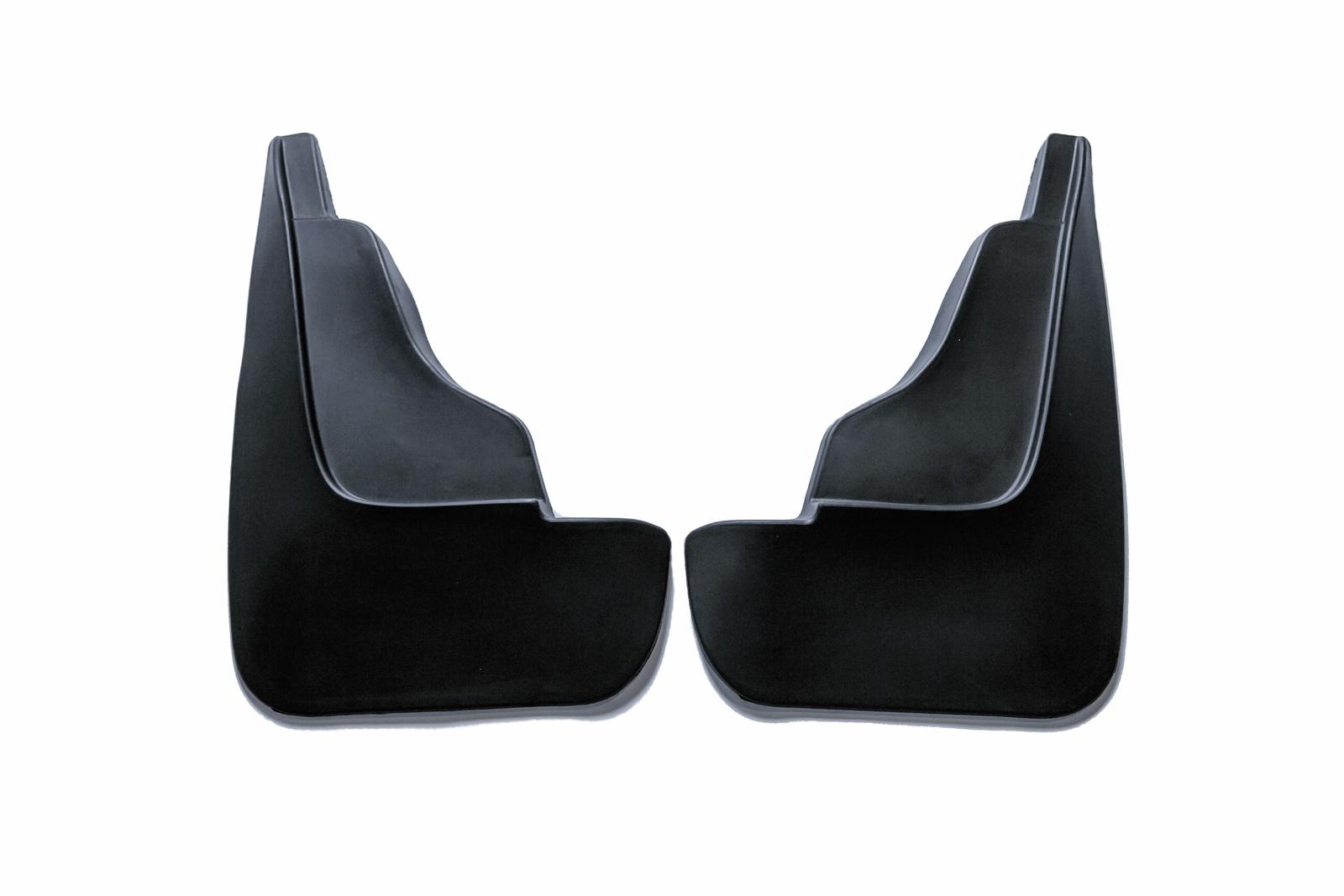 Брызговики резиновые для Renault Duster (2011-) Передние коврики салона avtodriver для renault duster передний привод 2011 adrjet023 резиновые с бортиком черный