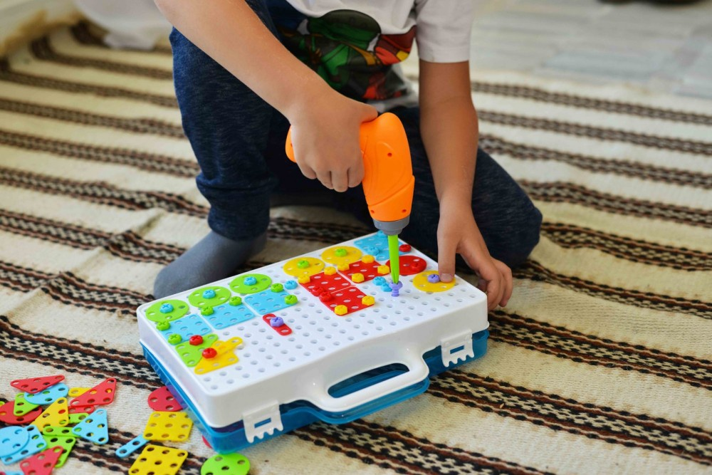 Детский развивающий конструктор Create and Play