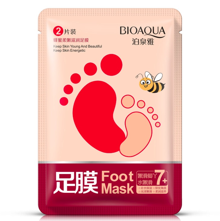Увлажняющие маски-носочки для ног Bioaqua увлажняющие маски