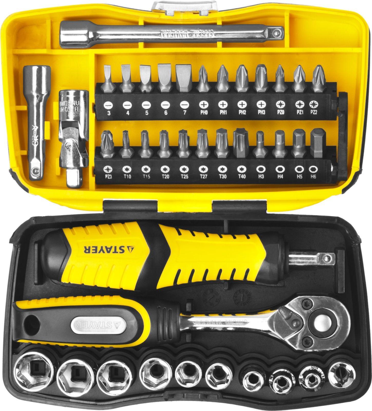 Набор ручных инструментов Stayer Professional, 25135-H39, 39 предметов